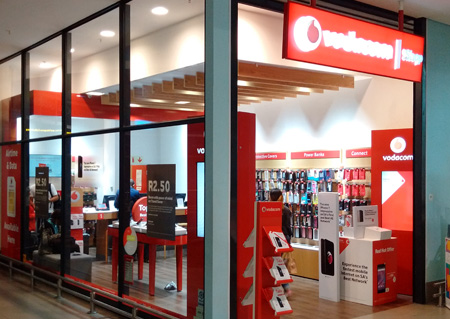Vodacom Shop King Shaka international Airport - Johannesburg